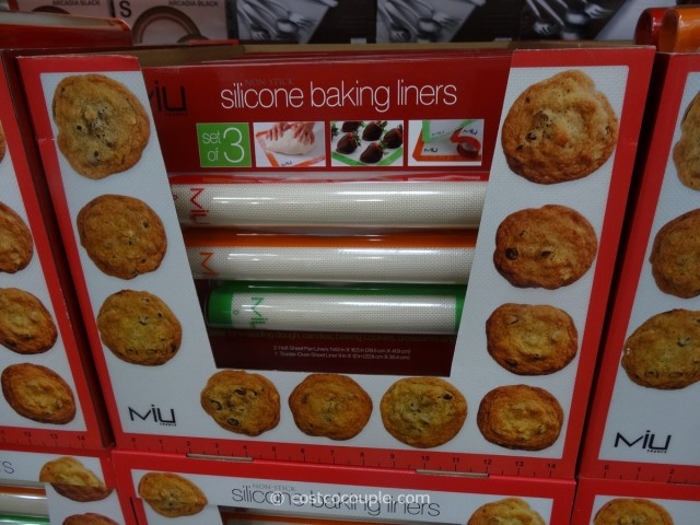 MIU France Silicone Baking Liners Costco 1