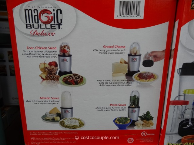 Magic Bullet Deluxe Blending System Costco 1