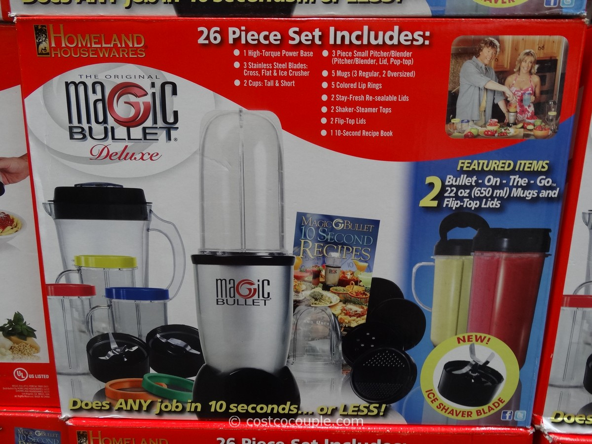 Magic Bullet Deluxe Blending System Costco 2