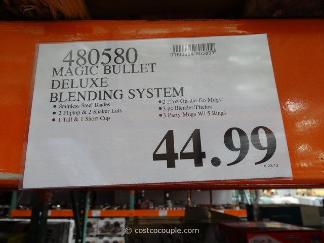 Magic Bullet Deluxe Blending System Costco 4