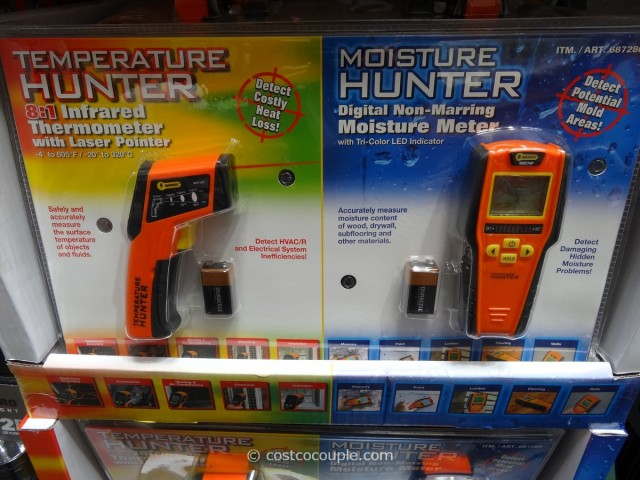Mannix Infrared Thermometer and Moisture Detector Costco 1