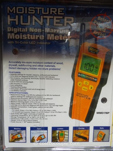 Mannix Infrared Thermometer and Moisture Detector Costco 2