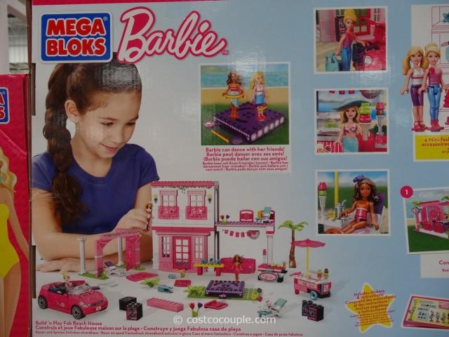 Mega Bloks Barbies Fab Beach House Costco 2