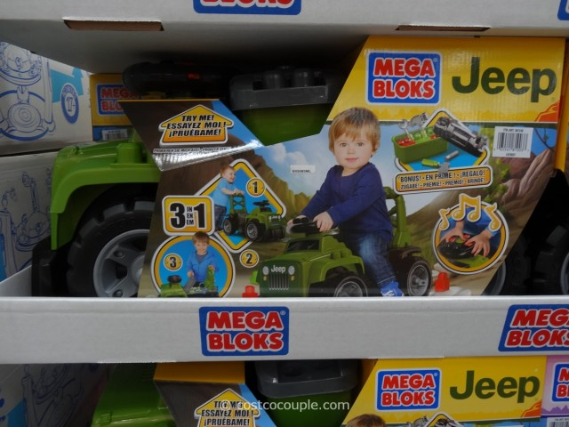 Mega Bloks Jeep Ride-On Costco 1