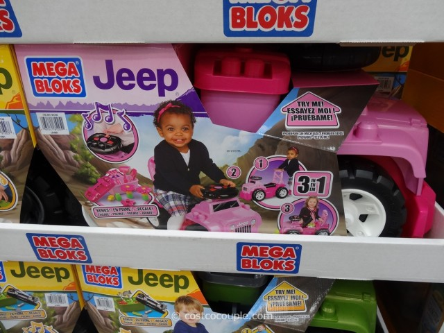 Mega Bloks Jeep Ride-On Costco 2