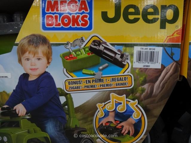 Mega Bloks Jeep Ride-On Costco 5