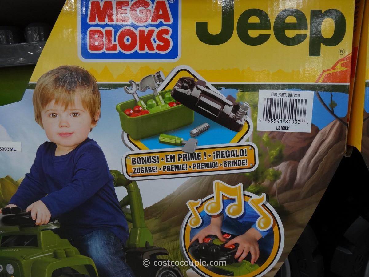 Mega Bloks Jeep Ride-On Costco 5