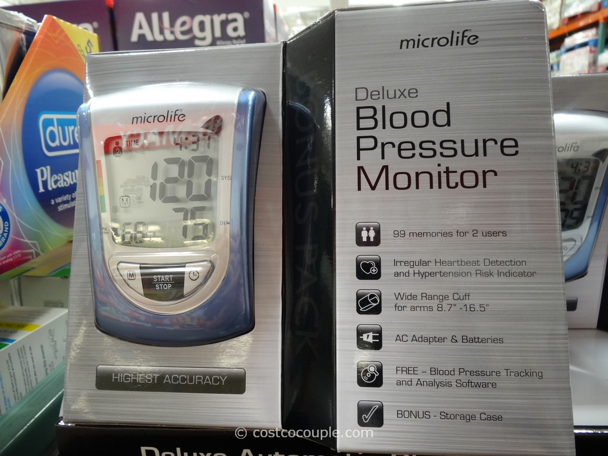 Microlife Deluxe Blood Pressure Monitor Costco 1
