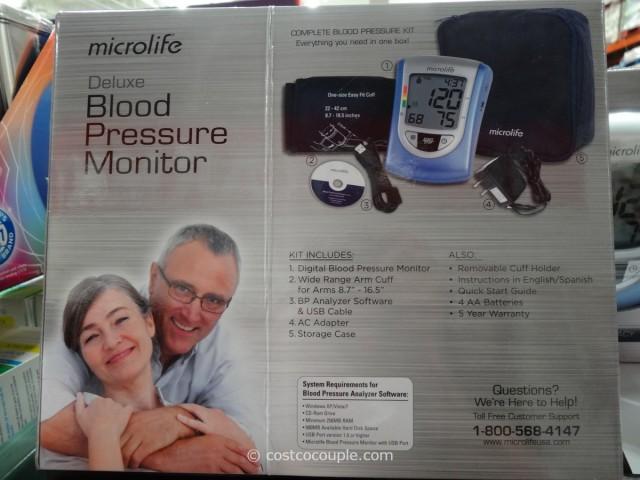 Microlife Deluxe Blood Pressure Monitor Costco 2