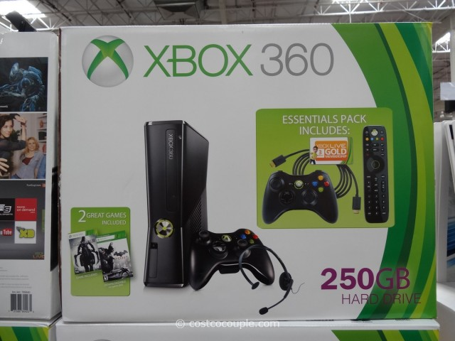 Microsoft XBox 360 Console Bundle Costco 4