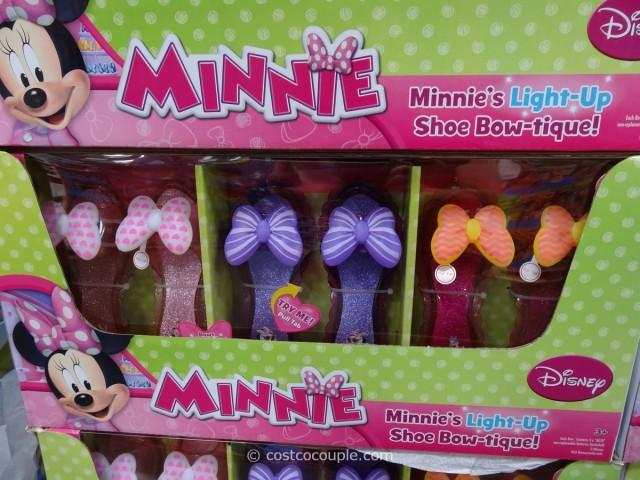 Disney Minnie's Light-Up Shoe Bow-tique Costco 1