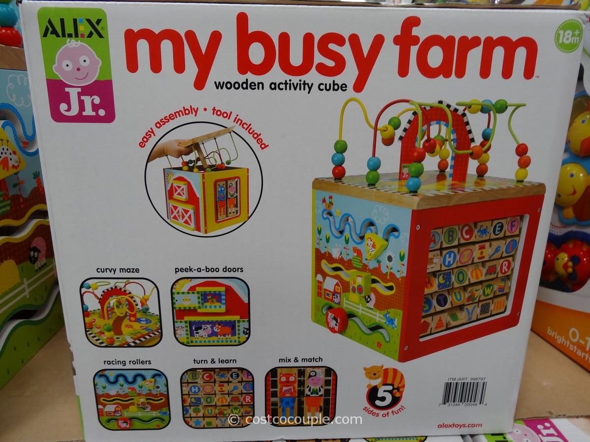 Alex Jr My Busy Farm Cube