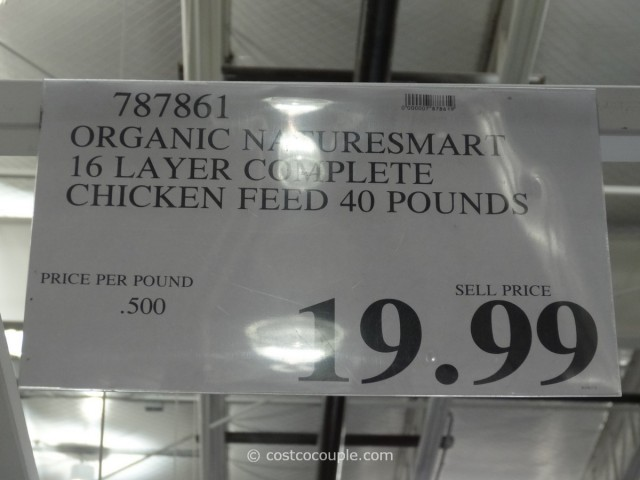 Naturesmart Organic Chicken Feed Costco 2