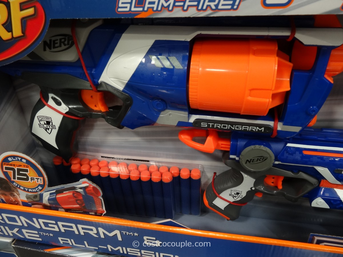 Nerf N-Strike Strongarm and Firestrike Costco 4 ...