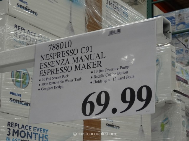 Nespresso Essenza Espresso Maker