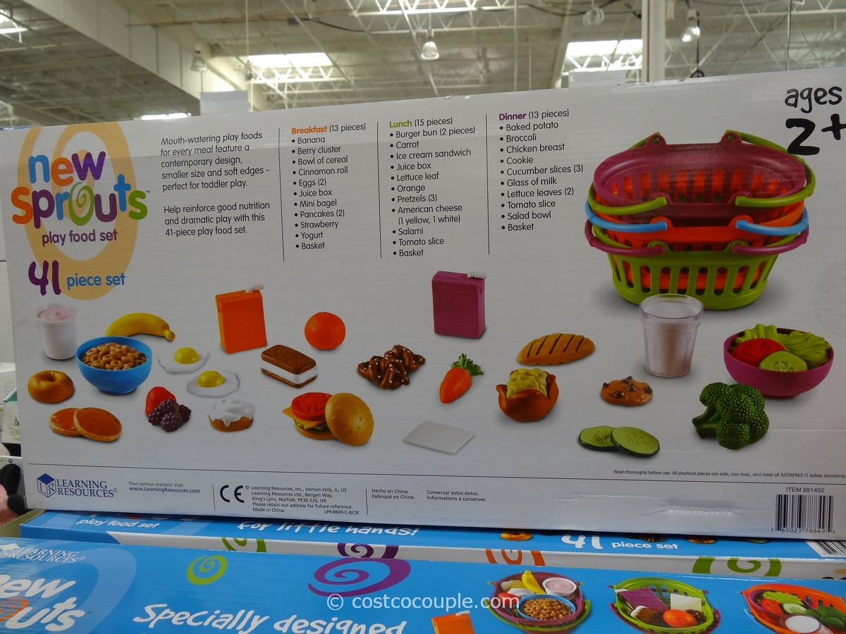New Sprouts Play Food Set
