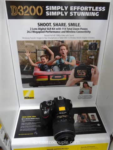 Nikon D3200 DSLR Kit Costco 3
