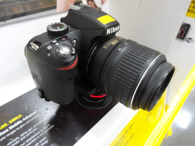 Nikon D3200 DSLR Kit Costco 4