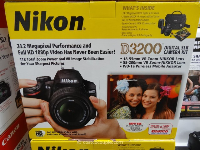 Nikon D3200 DSLR Kit Costco 5