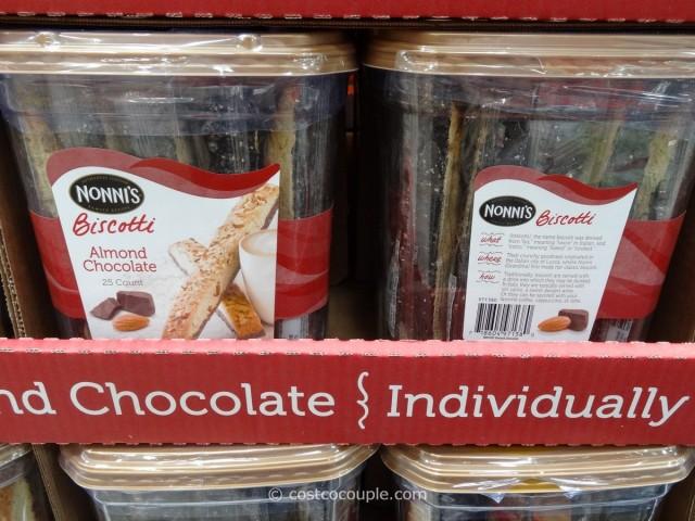 Nonnis Almond Chocolate Biscotti Costco 1