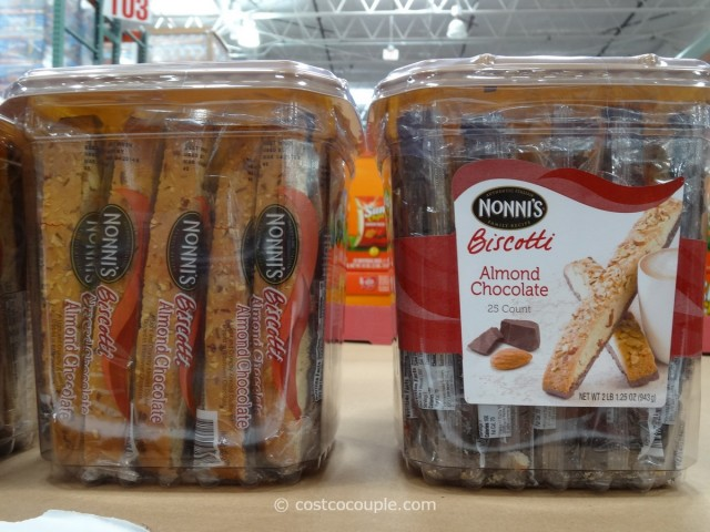 Nonnis Almond Chocolate Biscotti Costco 2