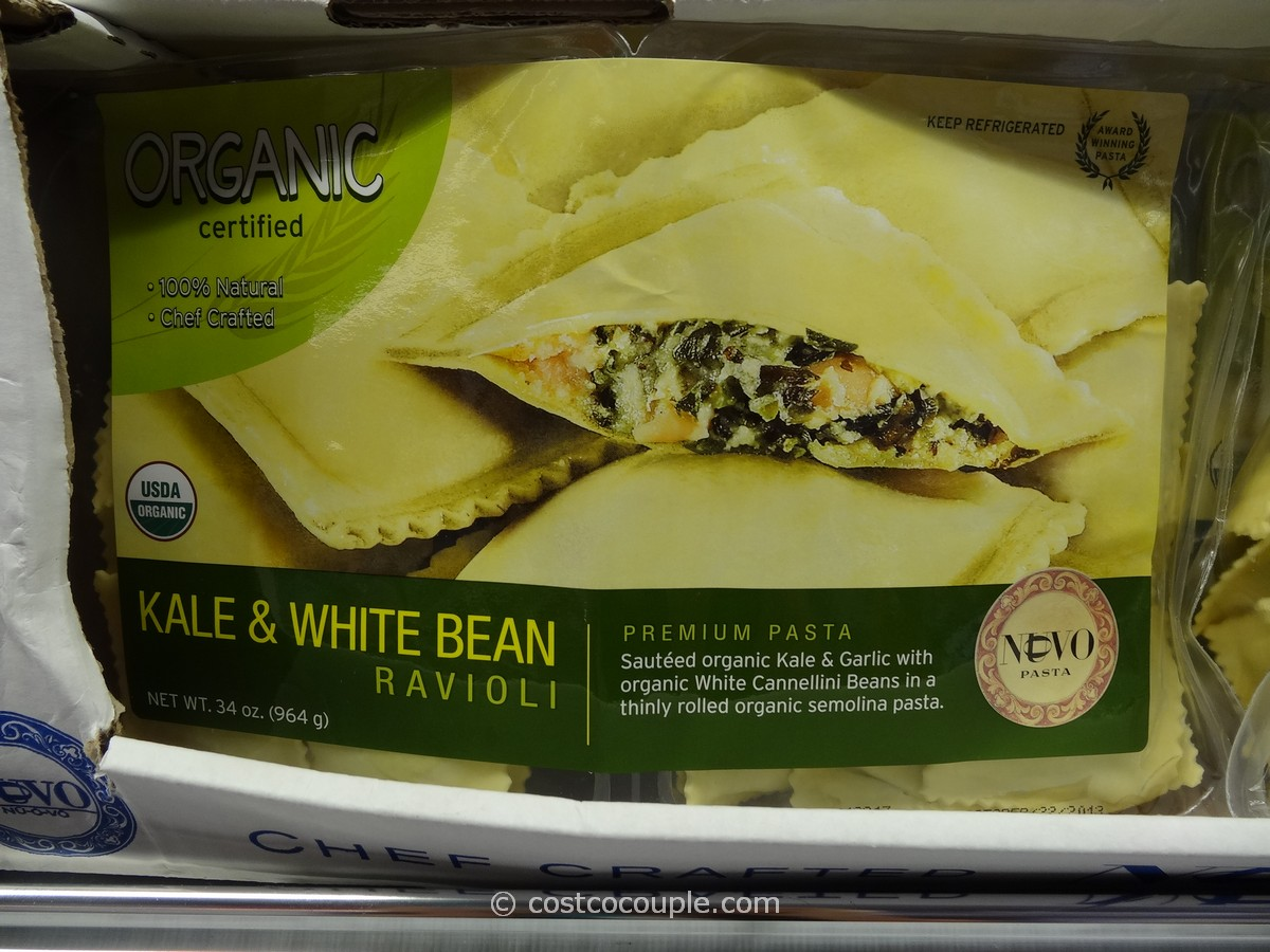 Nuovo Pasta Organic Kale and White Bean Ravioli Costco 1