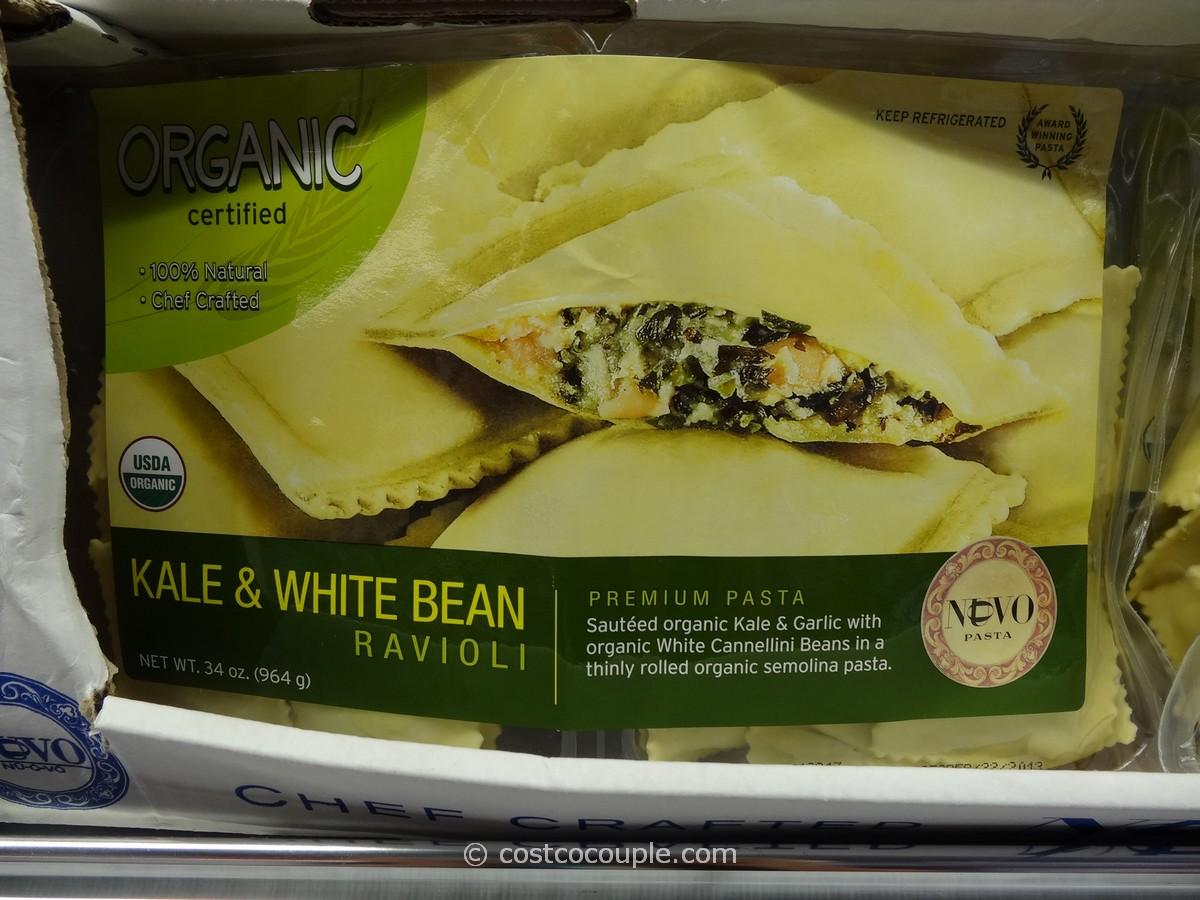 Nuovo Pasta Organic Kale and White Bean Ravioli Costco 1