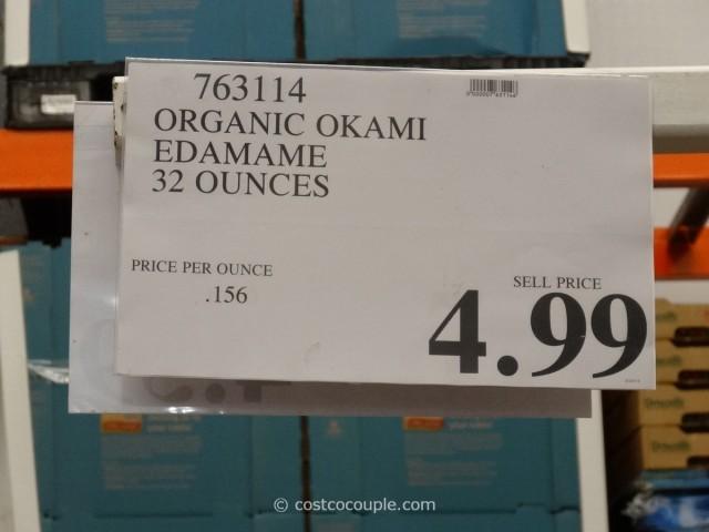 Okami Organic Edamame Costco 1