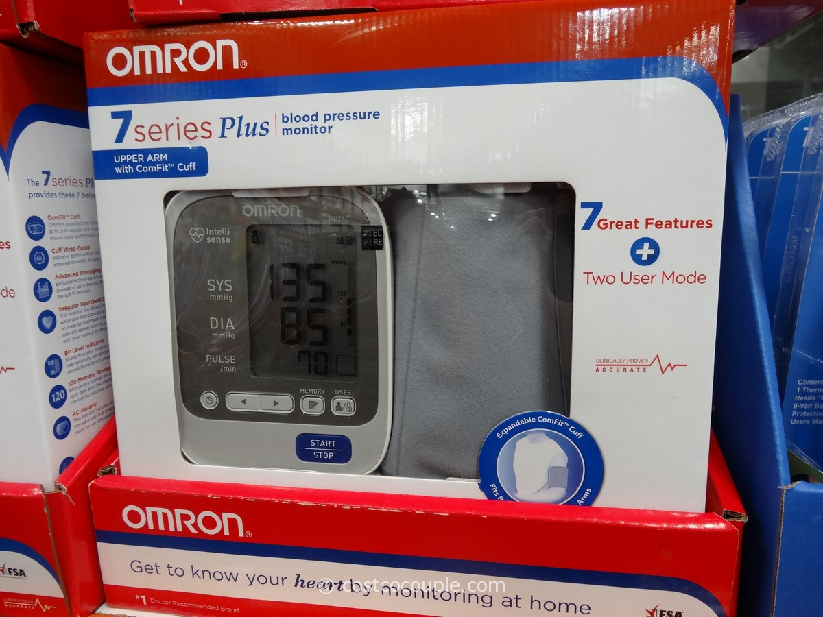 Omron 7 Series Plus Blood Pressure Monitor Costco 1