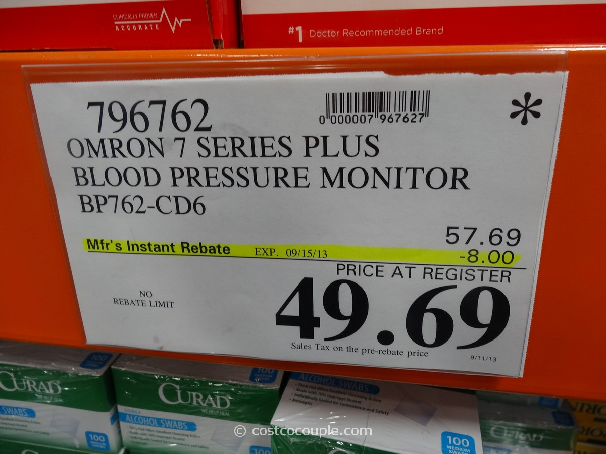 Costco Hotel Discounts >> Omron 7 Series Plus Blood Pressure Monitor