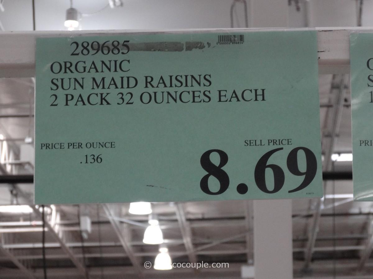 Sun Maid Organic California Raisins