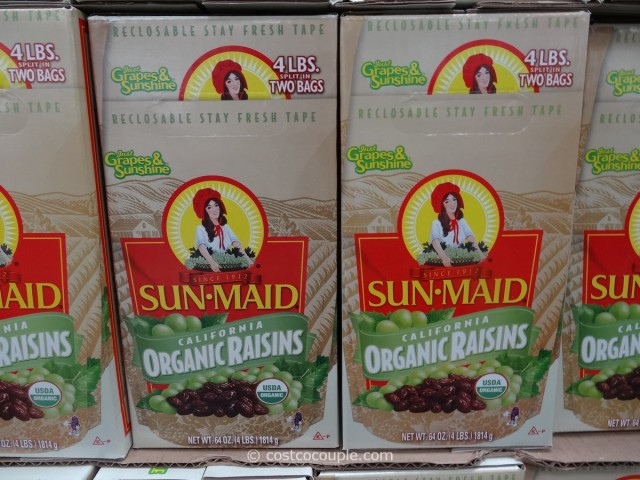 Organic Sunmaid Raisins Costco 2