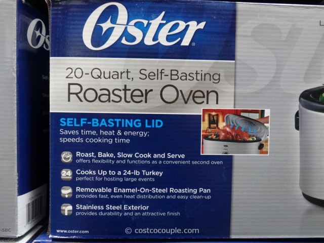 Oster Self-Basting Roaster Oven Costco 3