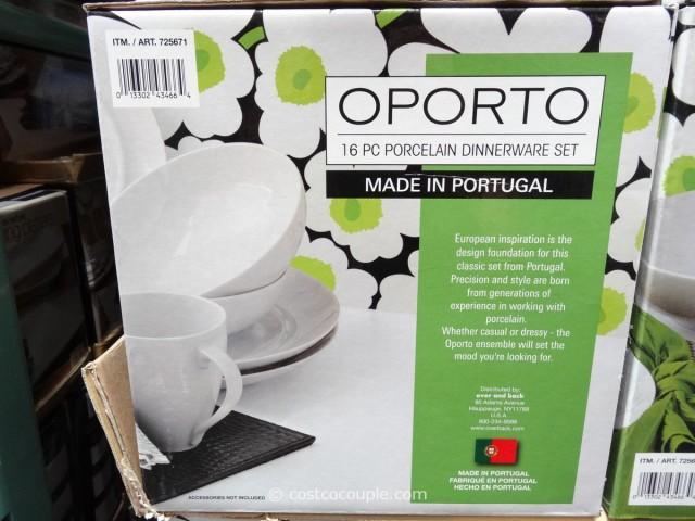 Over and Back Oporto Dinnerware Set Costco 2