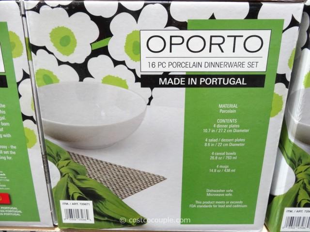 Over and Back Oporto Dinnerware Set Costco 3
