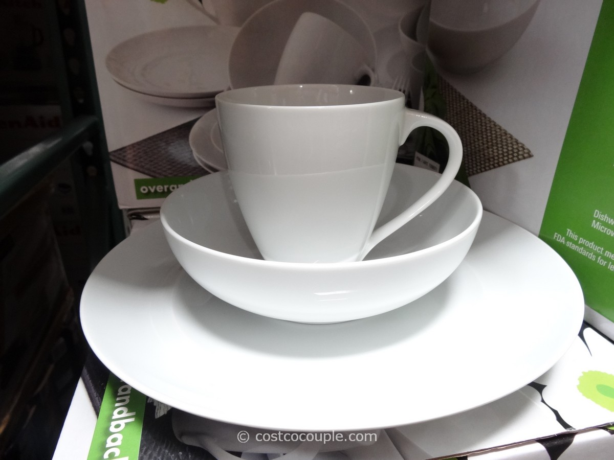 Over and Back Oporto Dinnerware Set Costco 4 & Over and Back Oporto Dinnerware Set