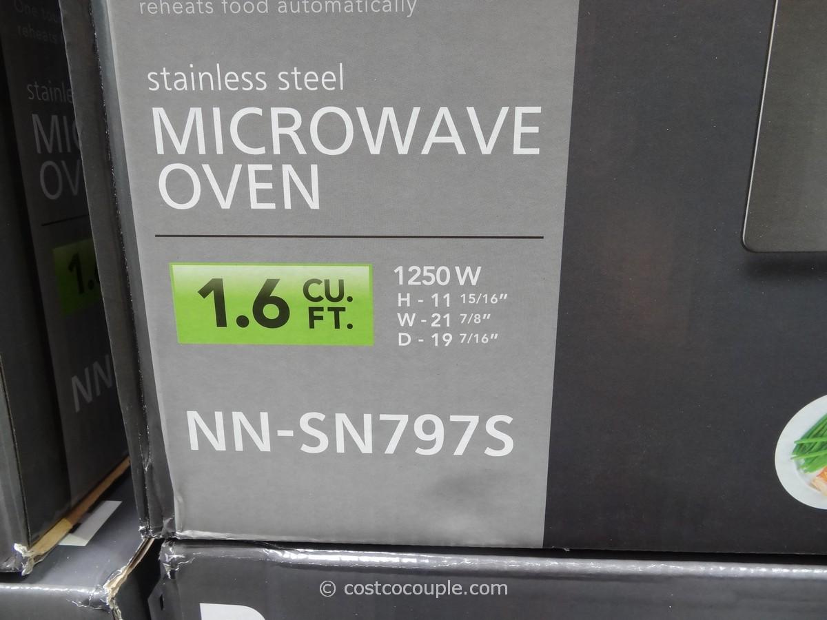 Panasonic 1 6 Cu Ft Stainless Steel Inverter Microwave Oven
