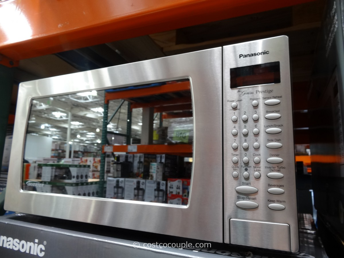 Panasonic 1 6 Cu Ft Stainless Steel Microwave Oven Costco 3