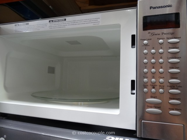 Panasonic 1.6 cu ft Stainless Steel Microwave Oven Costco 4