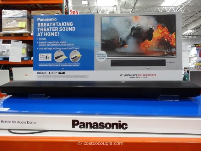 Panasonic Soundbar With Built-In Subwoofer Costco 1