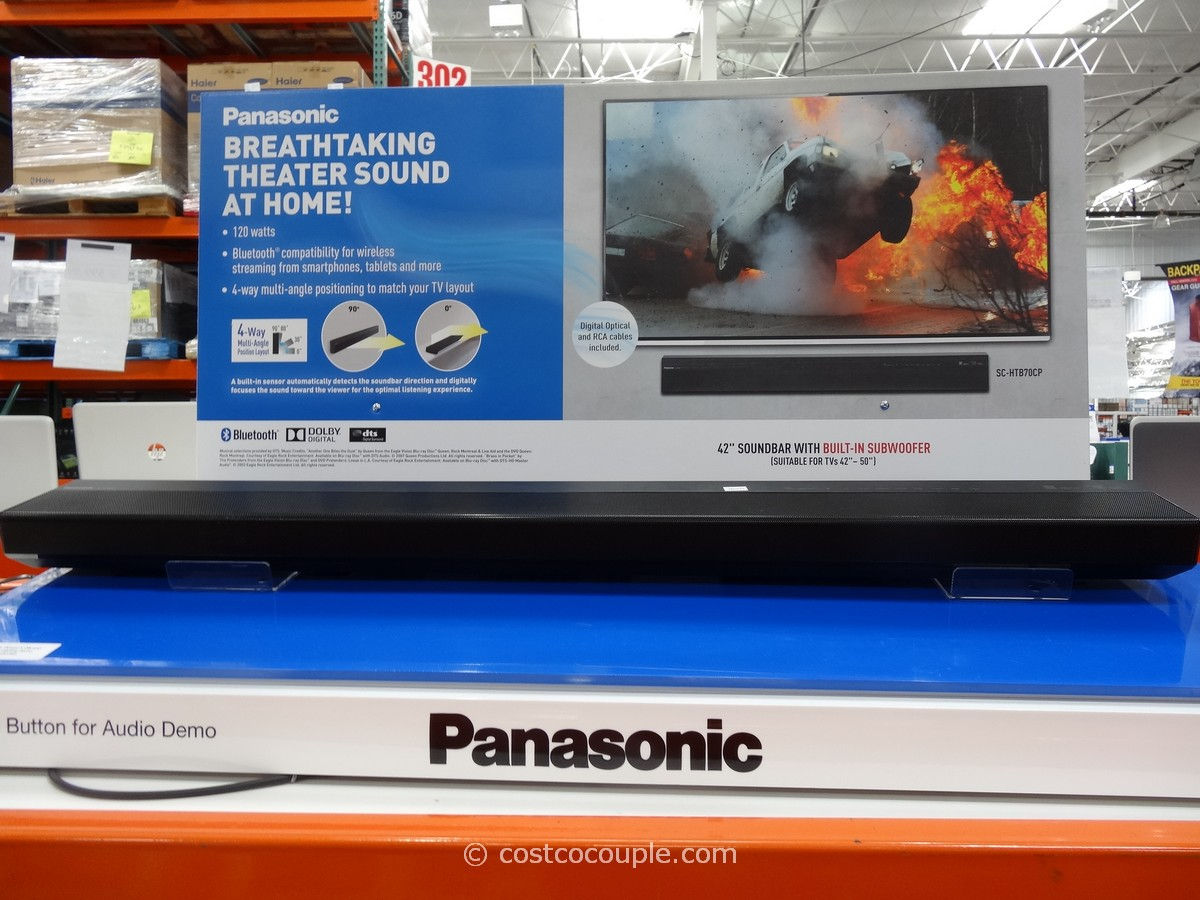 Panasonic Soundbar With Built-In Subwoofer Costco 1