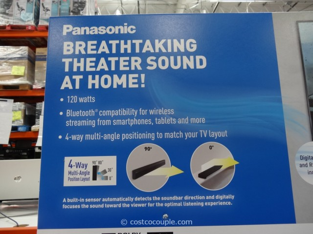 Panasonic Soundbar With Built-In Subwoofer Costco 3