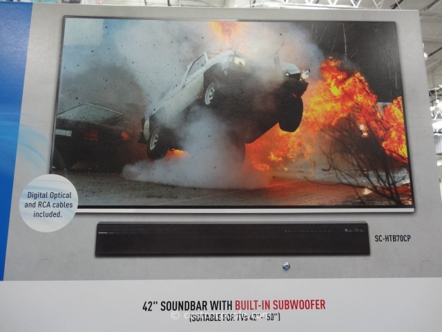 Panasonic Soundbar With Built-In Subwoofer Costco 4