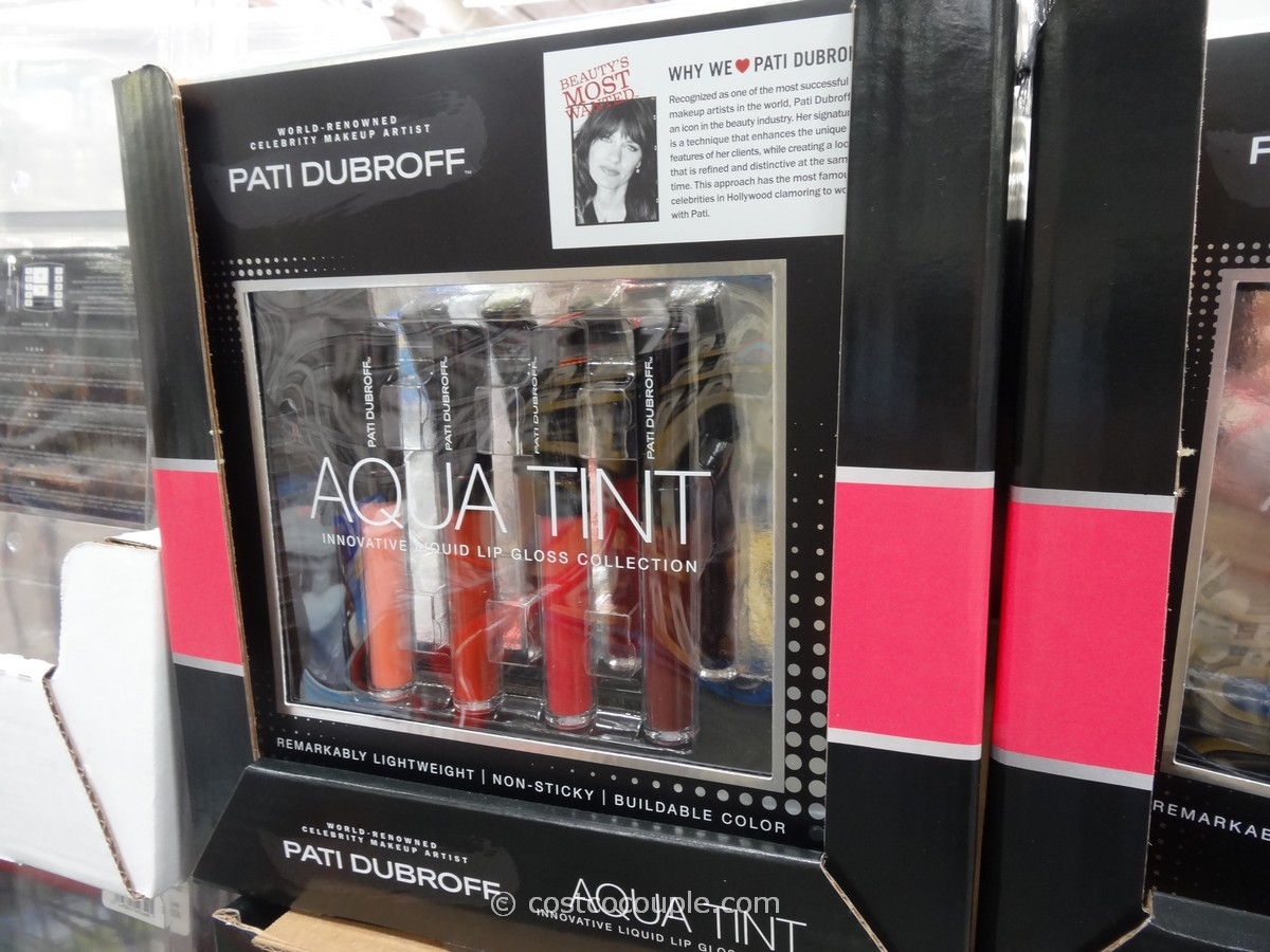 Pati Dubroff Lip Gloss Collection Costco 1