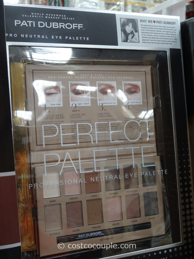 Pati Dubroff Professional Neutral Eye Palette Costco 2
