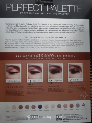Pati Dubroff Professional Neutral Eye Palette Costco 4