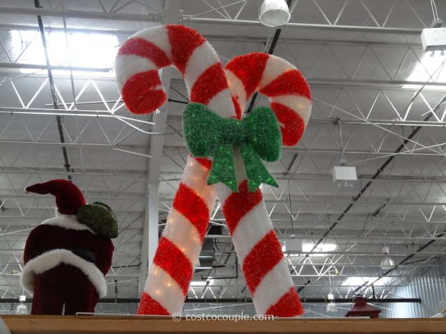 Philips Lighted Candy Canes Costco 1