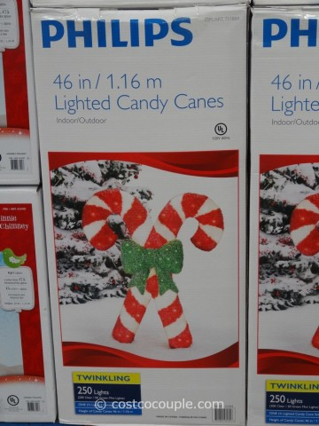 Philips Lighted Candy Canes Costco 3