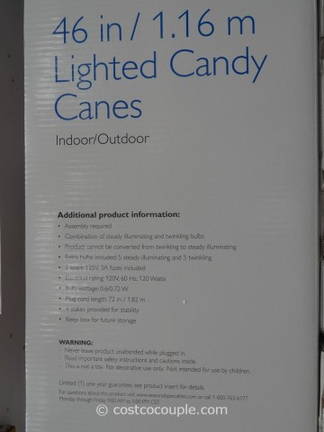 Philips Lighted Candy Canes Costco 4