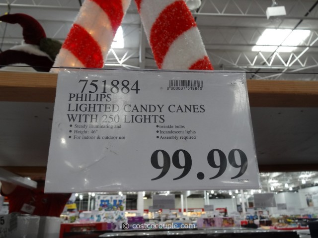 Philips Lighted Candy Canes Costco 7